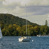Sailboats at Lake Windermeere