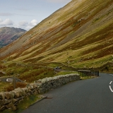 A road at Lake District