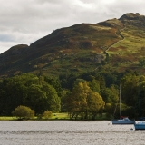 Sailboats at Ullswater