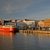 Lightship Helsinki at the Market square