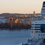 M/S Silja Serenade, Klippan and Suomenlinna