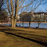 Tokoinranta park in spring