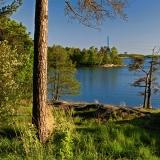 View from Humallahdenpuisto park to Seurasaarenselkä