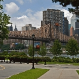 Queensboro bridge ja Roosevelt island