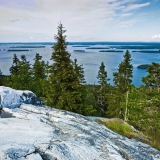 A view from Ukko-Koli to lake Pielinen