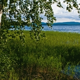 Koli seen from the other side of lake Pielinen
