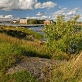 View from Länsi-Musta towards Pikku-Musta