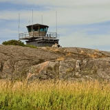 A watchtower on Utö island