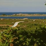 View from Högberget over Moringharu to Utö
