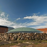 The dome of the Temppeliaukio church
