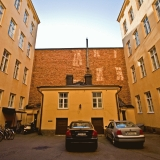 Inner yard at Meritullinkatu 22
