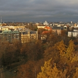 View over Kaivopuisto park to the north