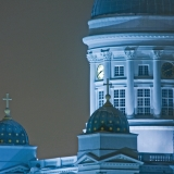 Towers of the Helsinki cathedral