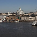 Market square and the Helsinki cathedral