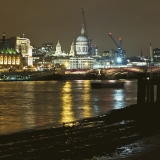 St Paul's cathedral and Blackfrias bridge