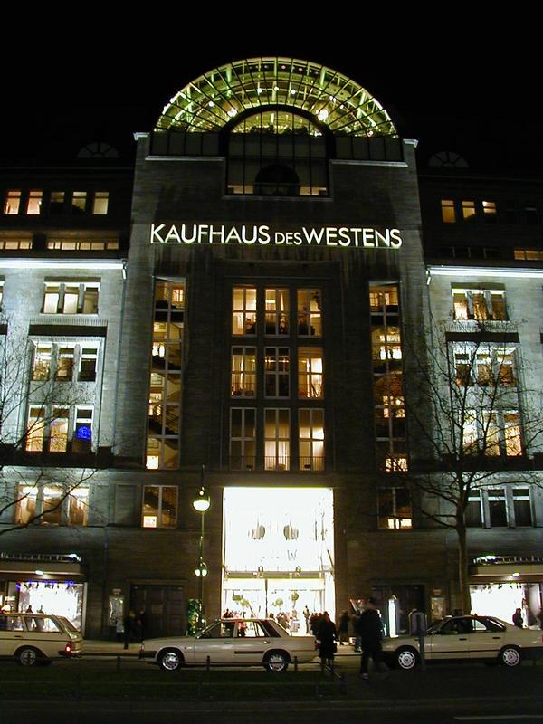Kaufhaus des Westens -tavaratalo Berliinissä