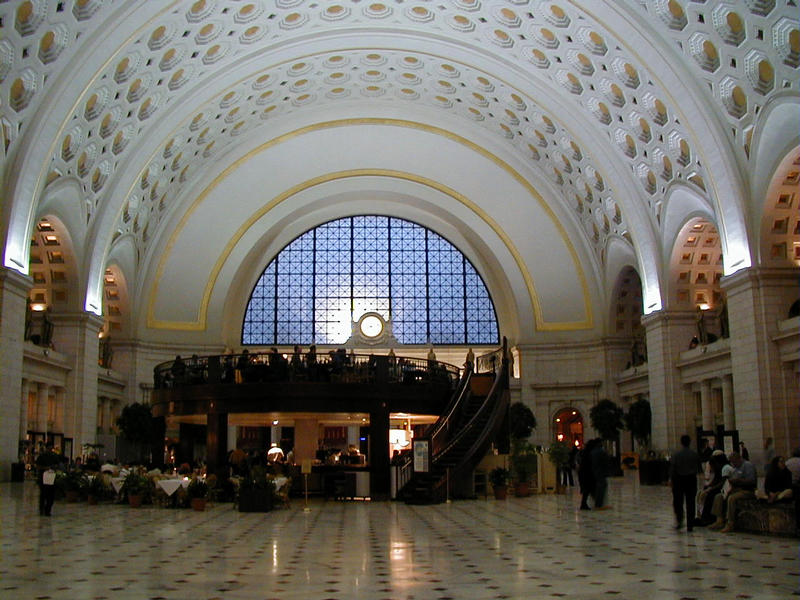 The Union Station hall