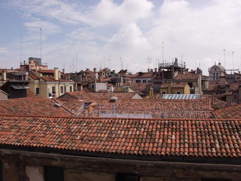 Venetsian kattoja