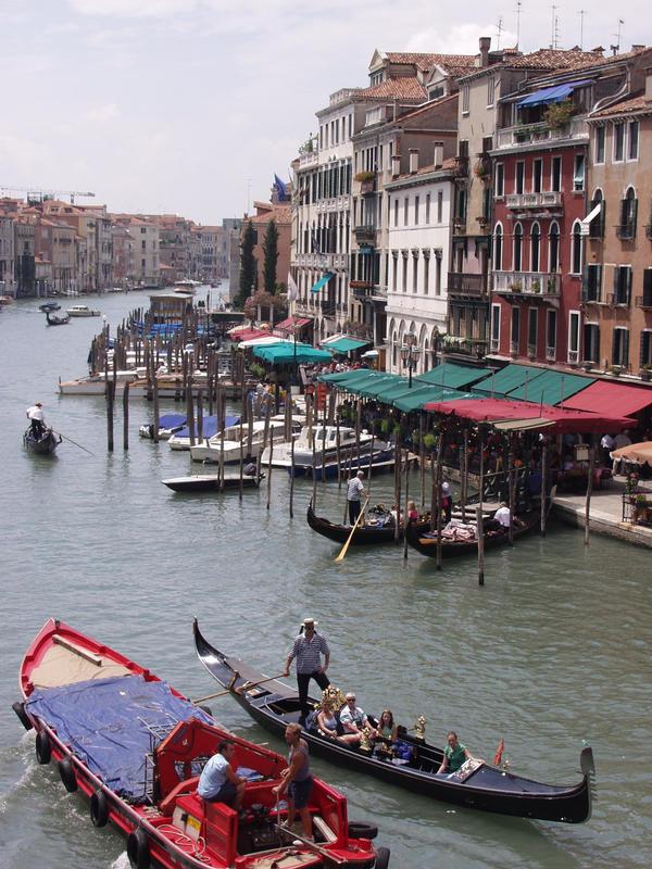 Gondolas at the Grande Canale
