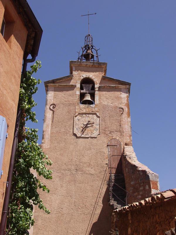 An old church tower
