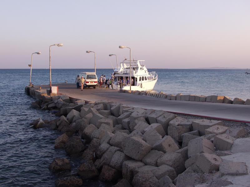 Laituri Punaisella merellä