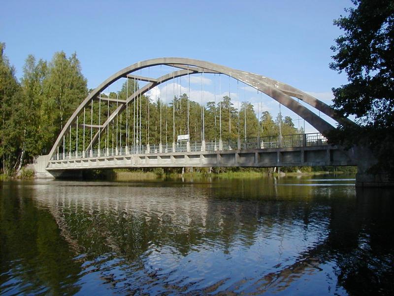 The Savukoski bridge
