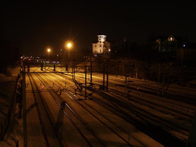 Train tracks at Linnunlaulu