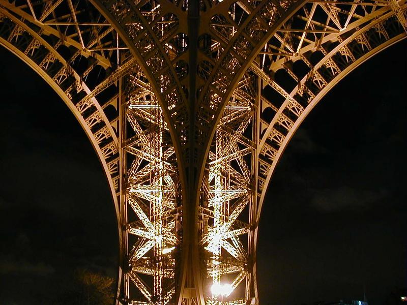Eiffelin tornin jalka