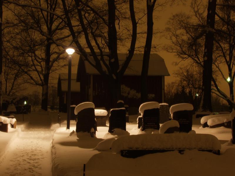 Pyhän Laurin (Helsingin Pitäjän) kirkon hautausmaa