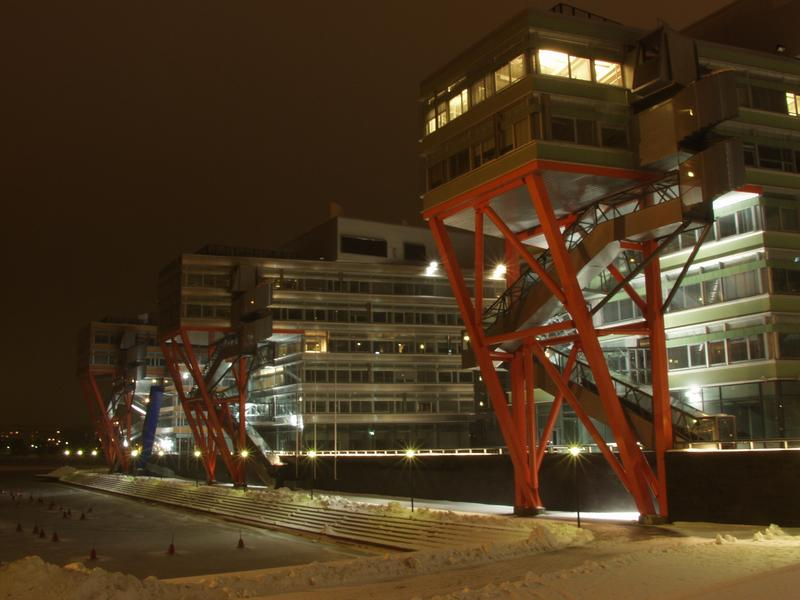 The High Tech Center at Ruoholahti viewed from the seaside
