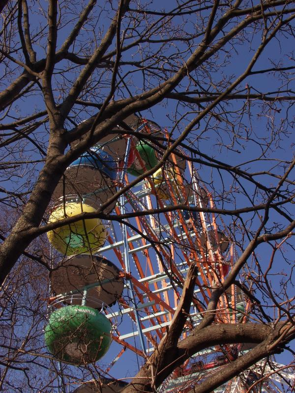 Helsinki ferris wheel at Linnanmäki amusement park