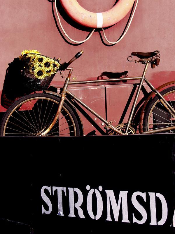 Polkupyörä Strömsdalenin kannella