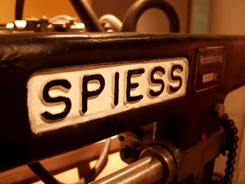 Spiess printing press
