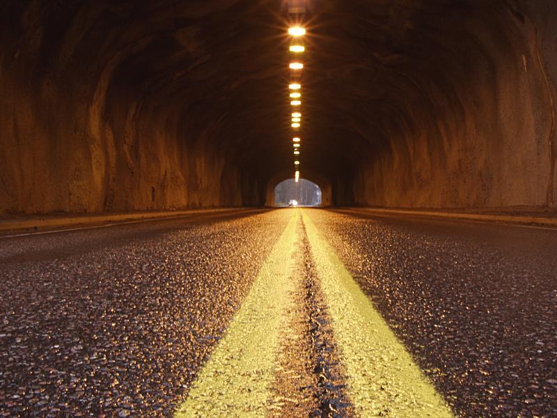 Lake Borgby tunnel