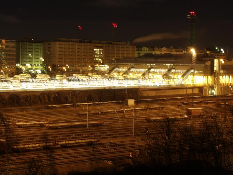 Pasila railway station and yard