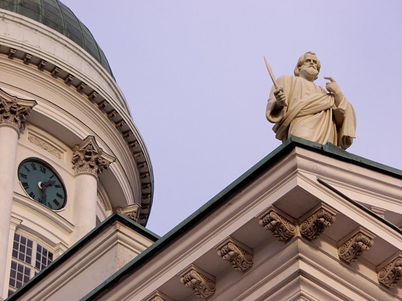 Apostoli Tuomiokirkon katolla