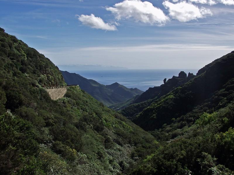 A valley at the Anaga peninsula