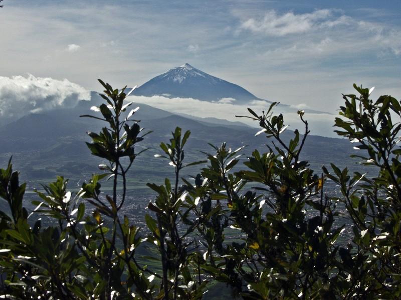 Teide nähtynä Pico del Inglesistä