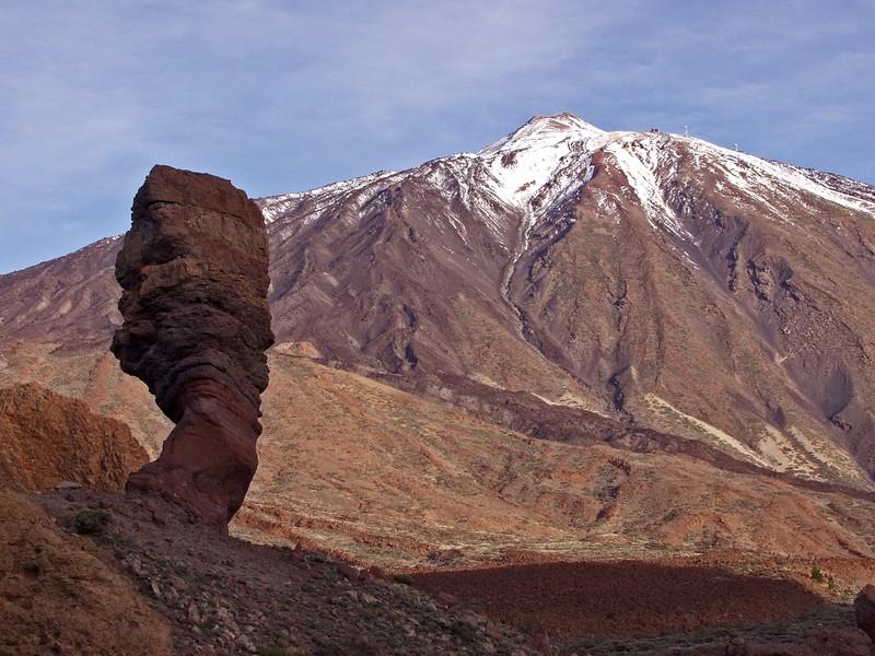 Los Roques ja Teide