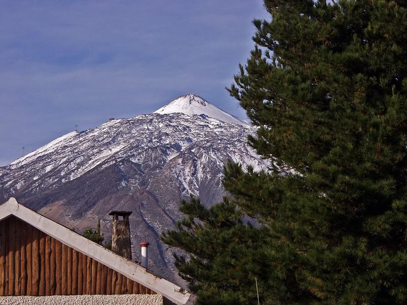 Näkymä Teidelle El Portillon kylästä