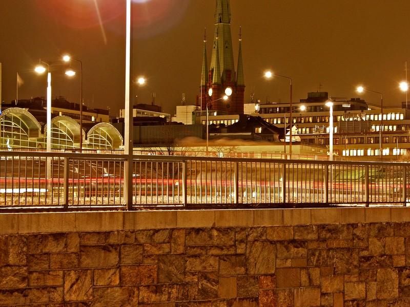City hall bridge