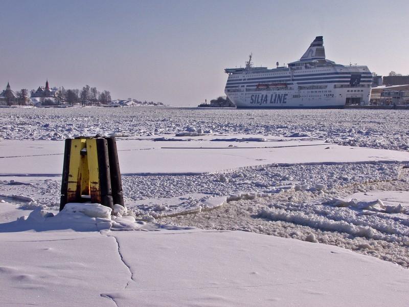 Eteläranta jääpeitteessä