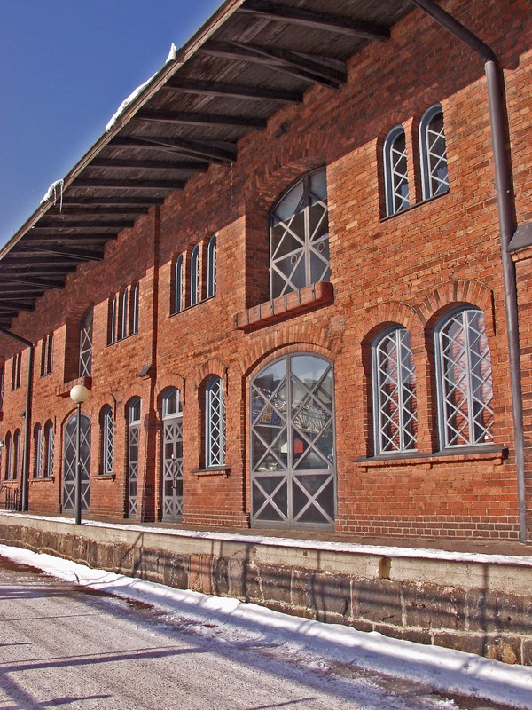 Old brick warehouse