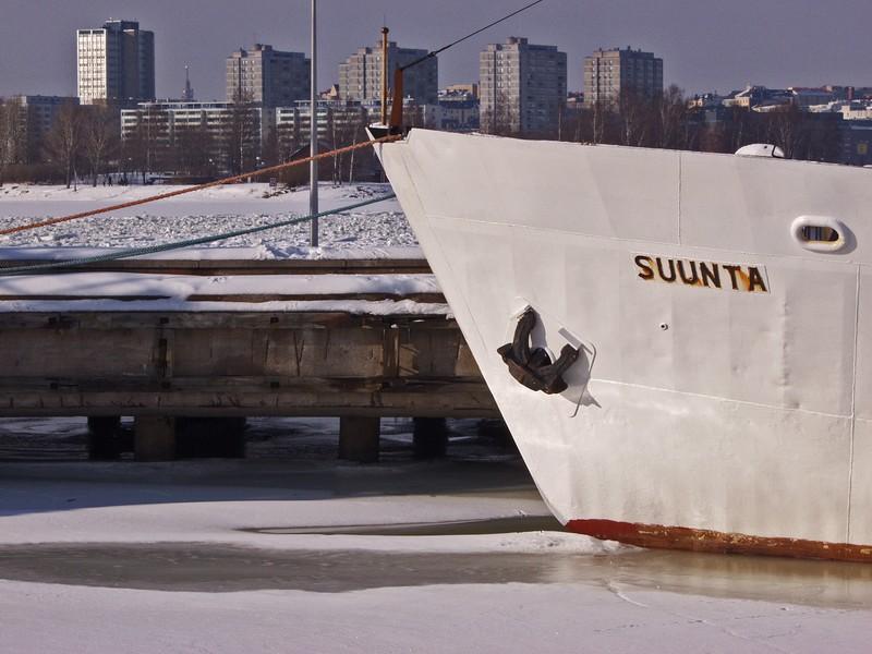Finnish Maritine Administration's ship Suunta
