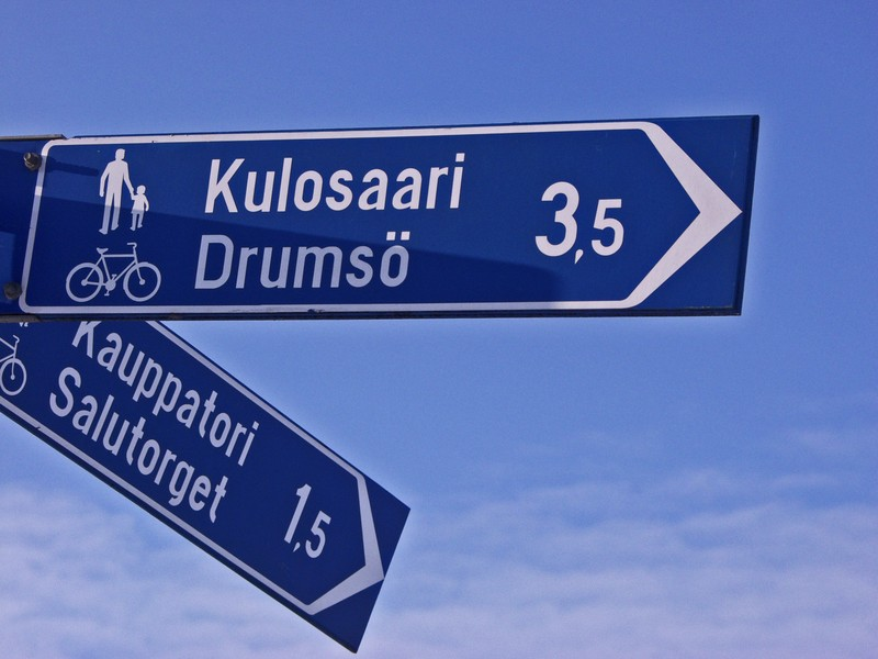 Distances to Kulosaari and Kauppatori