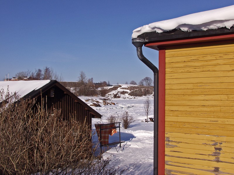 Asumista Suomenlinnassa