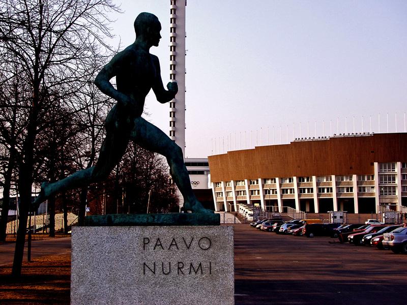 Statue of Paavo Nurmi
