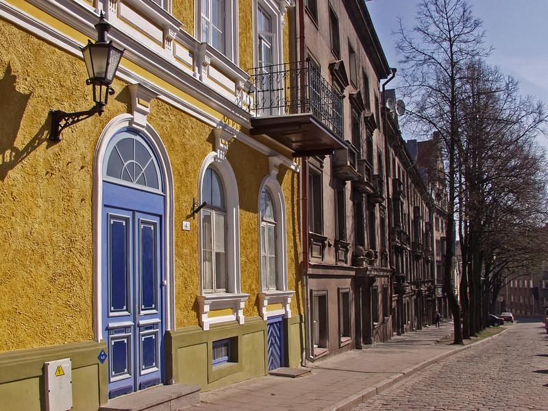 Houses on Niguliste