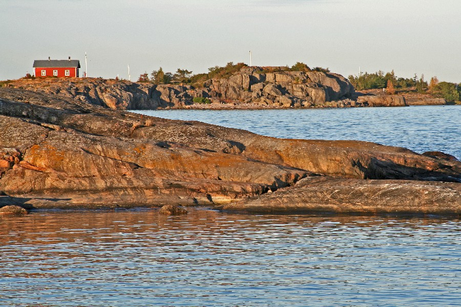 Mökki Skrobbanin saarella