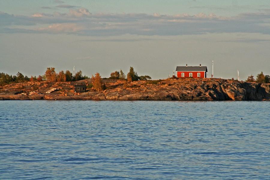 Talo Skrobbanin saarella